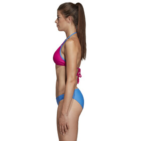 adidas BW 3-Stripes NH Bikini Dames, blauw/roze